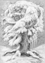 L'albero e la neve